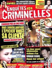 Enquêtes criminelles N° 24 March 2018