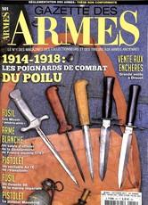 Gazette des Armes N° 501 Octobre 2017