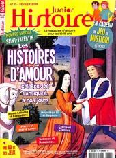 Histoire Junior N° 70 Janvier 2018