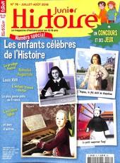 Histoire Junior N° 76 July 2018