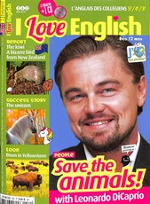 I love English ! N° 262 April 2018
