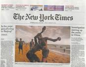 International New York Times N° 125 Janvier 2018