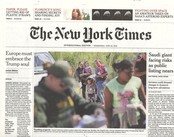 International New York Times N° 619 June 2018