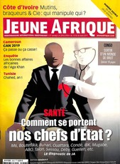 Jeune Afrique N° 2953 Août 2017