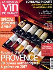 La revue du vin de France N° 609 Février 2017
