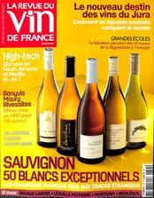 La revue du vin de France N° 615 Septembre 2017