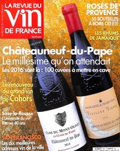 La revue du vin de France N° 623 June 2018