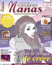L'atelier des nanas N° 7 Janvier 2018