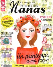 L'atelier des nanas N° 8 March 2018