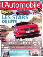 L'Automobile magazine N° 867 July 2018