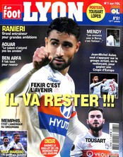 Le Foot Lyon magazine N° 61 April 2018