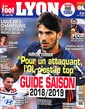 Le Foot Lyon magazine N° 63 August 2018
