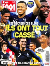 Le Foot Magazine N° 129 August 2018