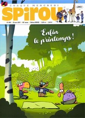 Le journal de Spirou N° 4119 Mars 2017