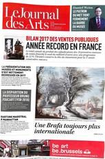 Le Journal des Arts N° 493 Janvier 2018