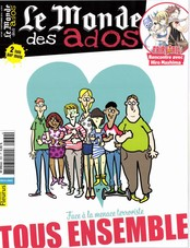 Le Monde des Ados N° 369 Septembre 2016