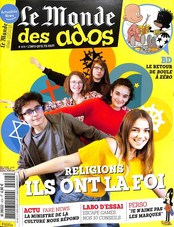 Le Monde des Ados N° 404 March 2018
