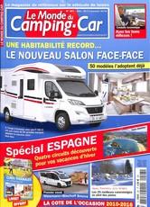 Le monde du Camping-car N° 298 Janvier 2018