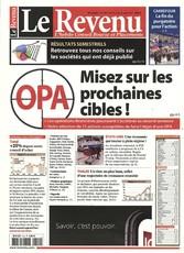 Le Revenu N° 510 August 2018