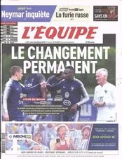 L'Equipe N° 619 June 2018