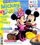 Mickey junior N° 377 Janvier 2017
