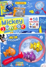 Mickey junior N° 395 August 2018