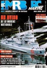 Modèle Réduit de Bateau N° 631 May 2017