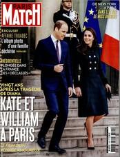 Paris Match N° 3540 Mars 2017