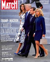 Paris Match N° 3557 Juillet 2017