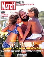 Paris Match N° 3561 Août 2017