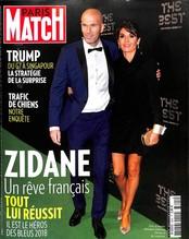 Paris Match N° 3605 June 2018
