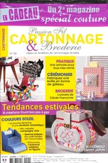 Passion fil cartonnage broderie N° 24 Juillet 2017