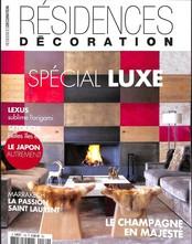 Résidences décoration N° 139 Décembre 2017