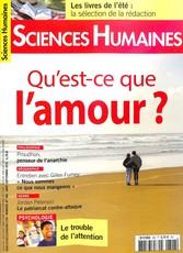 Sciences humaines N° 306 July 2018