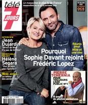 Télé 7 Jours N° 2943 Octobre 2016