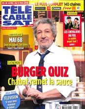 Télé Cable Sat Hebdo N° 1460 April 2018