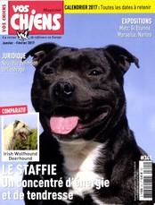 Vos Chiens magazine N° 341 Janvier 2017