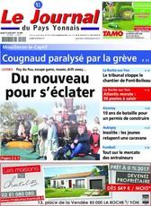 Abonnement le journal du pays yonnais abonnement magazine par - Journal du pays d auge ...