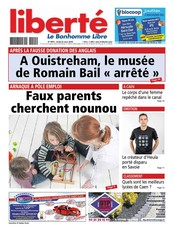 Liberté Le Bonhomme Libre March 2013
