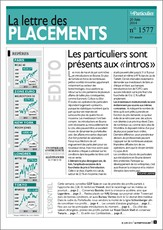 La lettre des placements