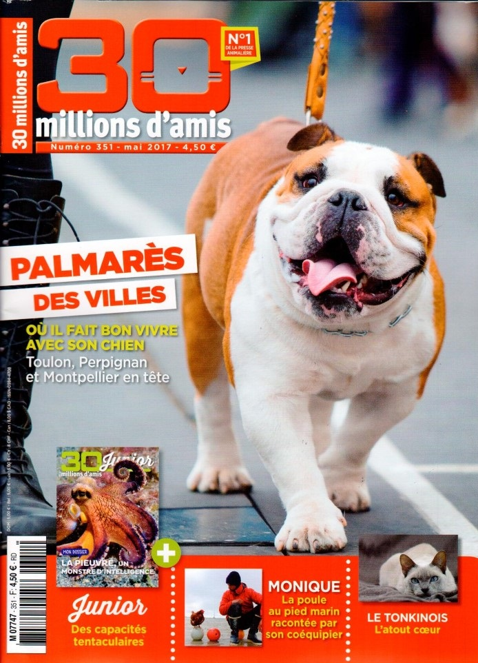 30 Millions d'Amis N° 351 Avril 2017