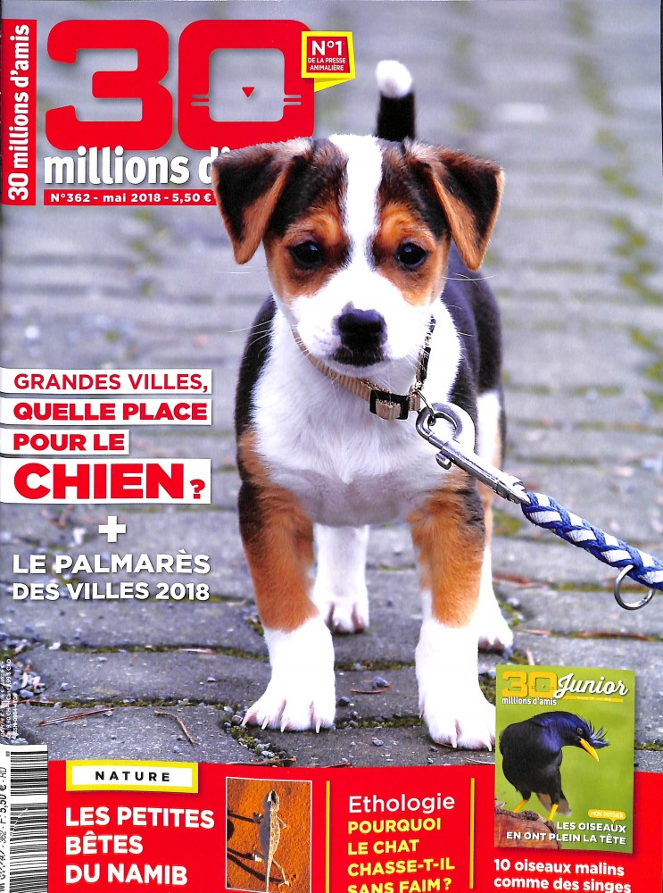 30 Millions d'Amis N° 362 April 2018
