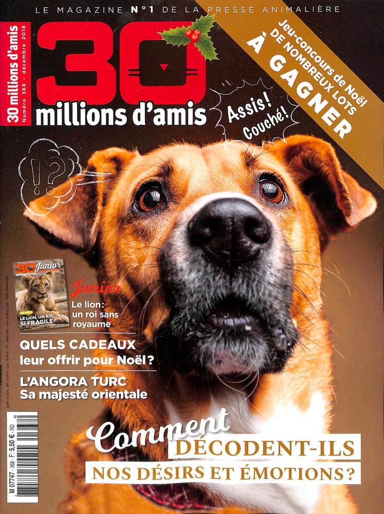 30 Millions d'Amis N° 368 November 2018