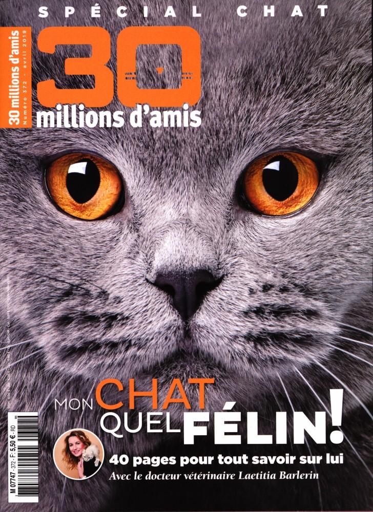 30 Millions d'Amis N° 372 Mars 2019