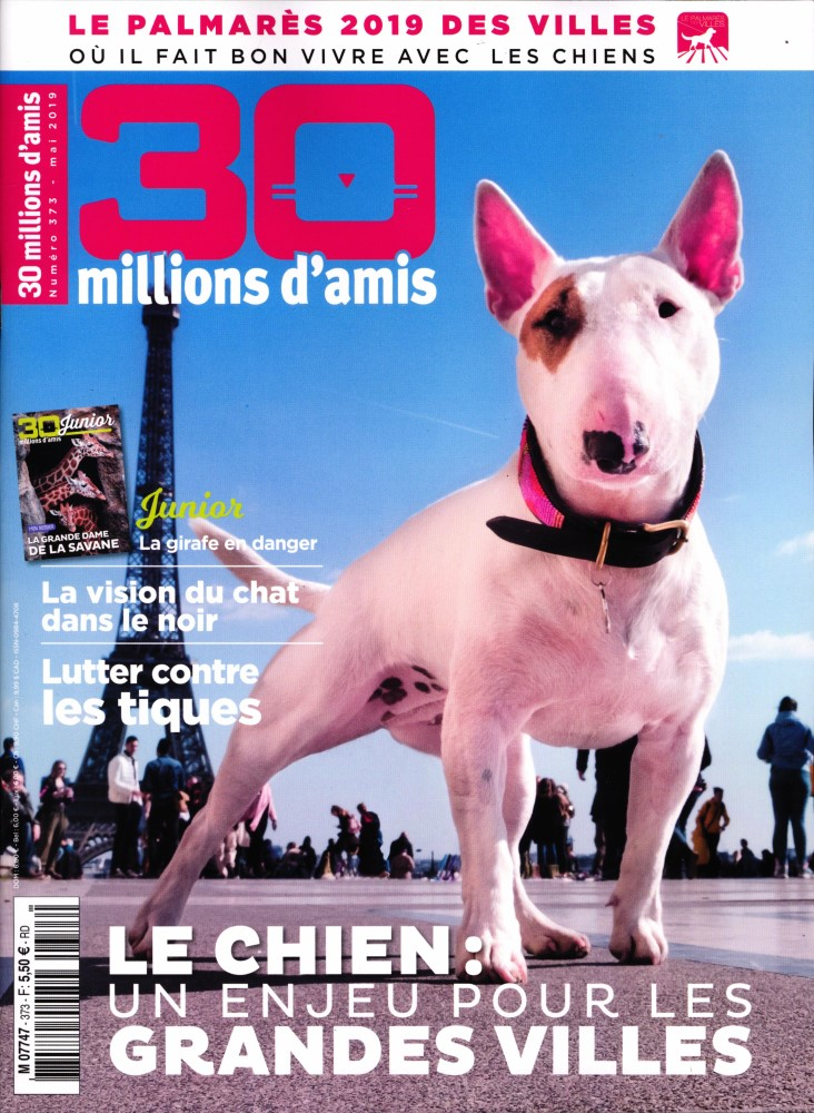 30 Millions d'Amis N° 373 Avril 2019
