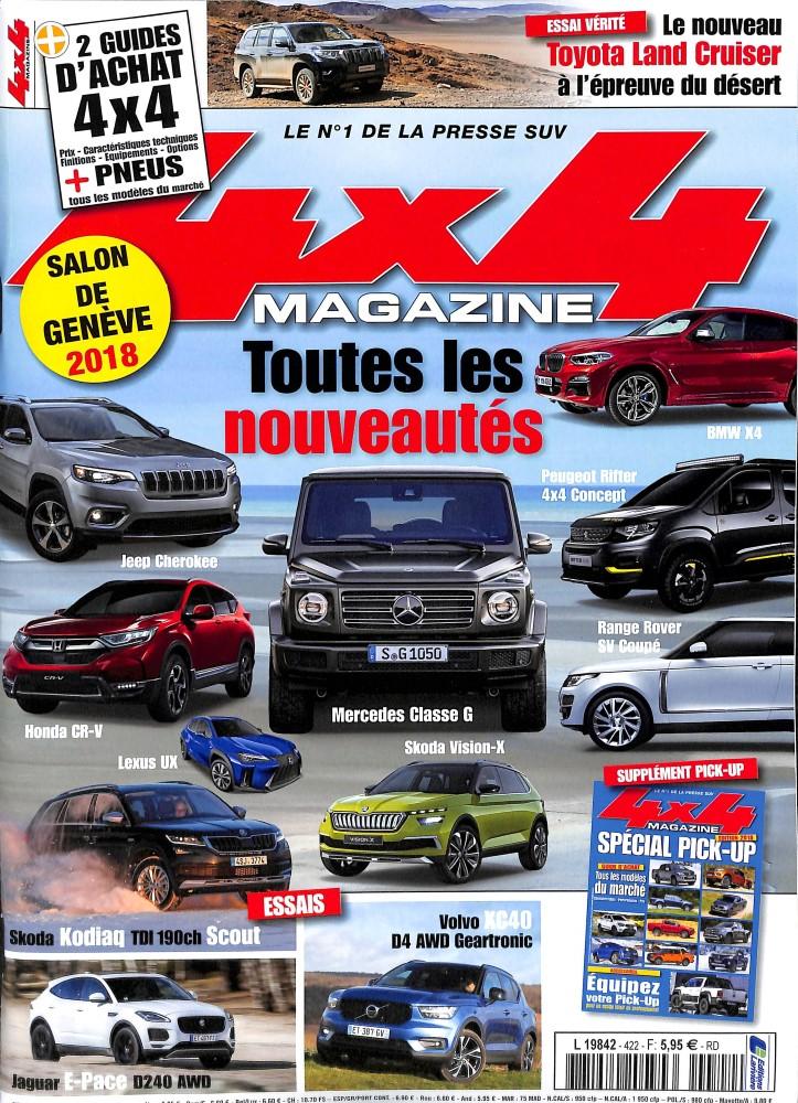 4x4 magazine N° 422 March 2018