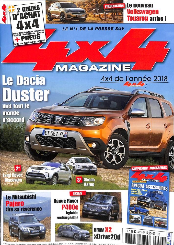 4x4 magazine N° 423 May 2018