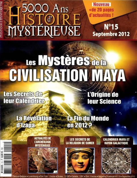 5000 ans d'Histoire mystérieuse N° 44 Novembre 2019