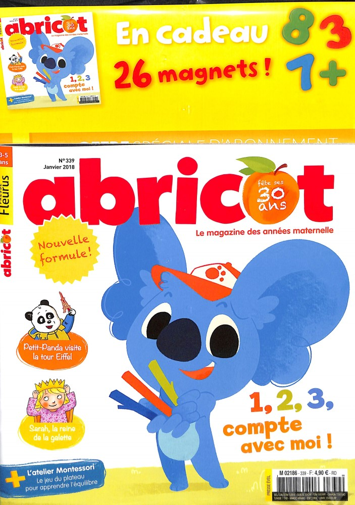 Abricot N° 348 October 2018