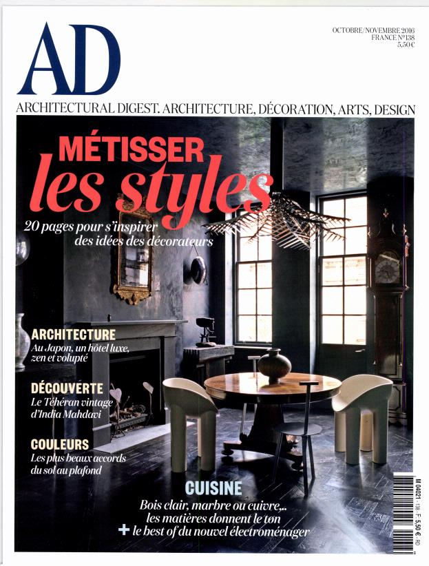 Ad architectural digest n 138 abonnement ad architectural digest abo - Magazine de decoration ...